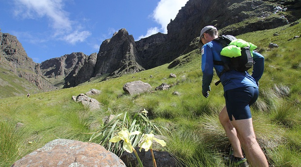 Trail run drakensberg