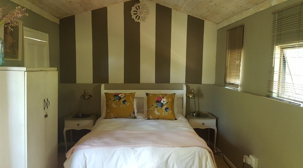 Pygmy Cottage Loft Bedroom quaint cosy couples retreat